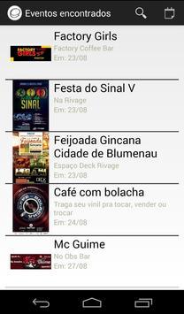 App Eventos apk screenshot
