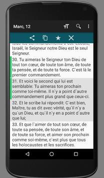 French Ostervald Bible (OST) apk screenshot