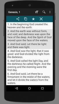 King James Bible (KJV) apk screenshot