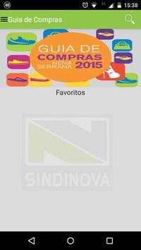 Guia de Compras - Sindinova poster
