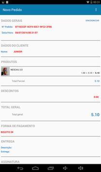 Força de Vendas Pedidos Notas apk screenshot
