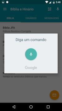 Bíblia e Hinários apk screenshot