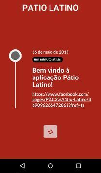 Patio Latino poster