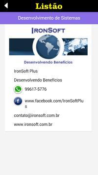 Listão de Itu apk screenshot