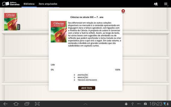 Leitor Editora Saraiva apk screenshot