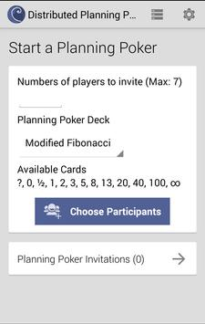 Distributed Planning Poker poster
