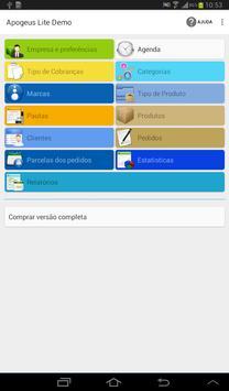 Apogeus Lite Demo. Sales Force apk screenshot