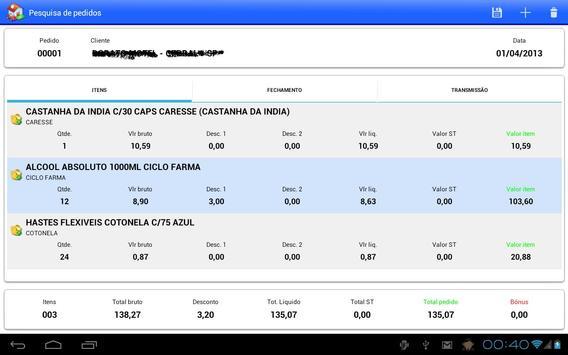 RacFV - Força de vendas apk screenshot