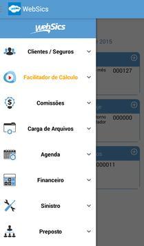 WebSics apk screenshot
