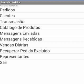 AFV (Executivo Pedidos) apk screenshot