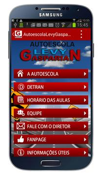 Autoescola Levy Gasparian poster