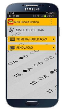 Autoescola Romeu apk screenshot