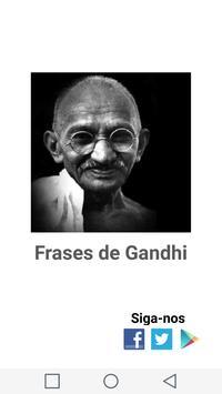 Frases Gandhi poster