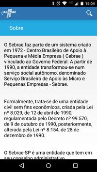 SEBRAE SP Responde apk screenshot