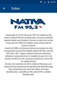 Nativa  FM apk screenshot