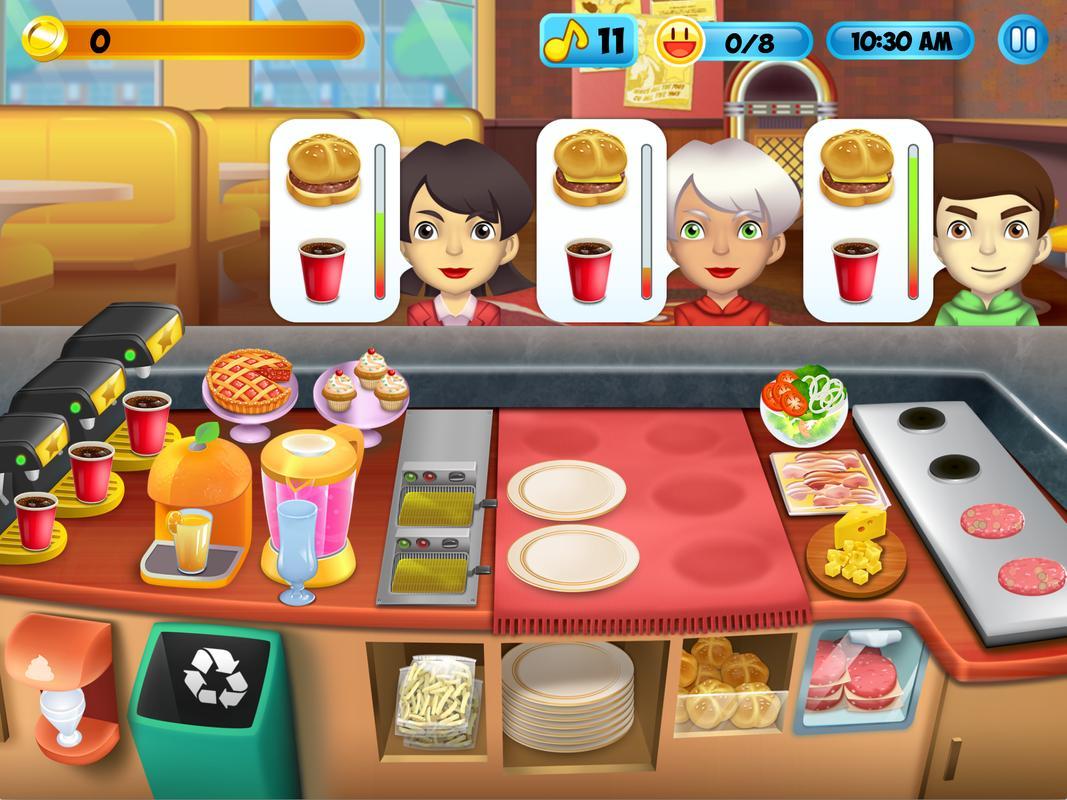 burger shop 2 free online game