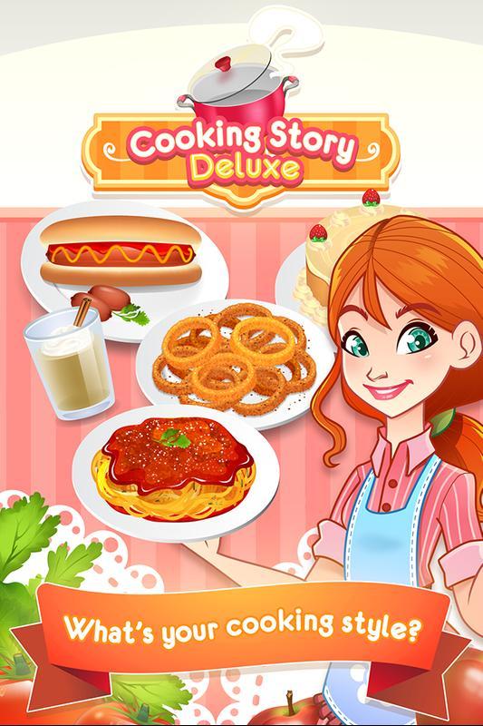 deluxe cooking games