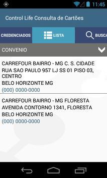Control Life Consultas apk screenshot