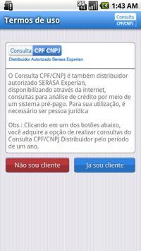 Consulta CPF / CNPJ apk screenshot