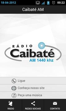 Rádio Caibaté apk screenshot
