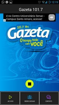 Gazeta 101,7 FM poster