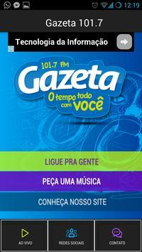 Gazeta 101,7 FM apk screenshot