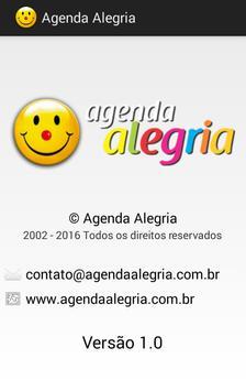 Agenda Alegria apk screenshot