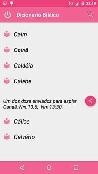 Dicionario Biblico Rosa apk screenshot