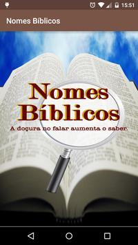 Nomes Biblicos poster