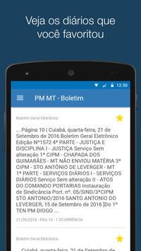 Boletim PM MT apk screenshot