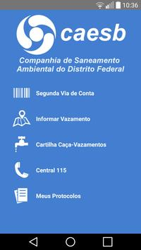 CAESB Autoatendimento poster