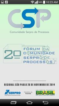 Fórum CSP SP poster