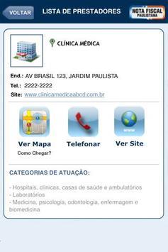 NOTA FISCAL PAULISTANA apk screenshot