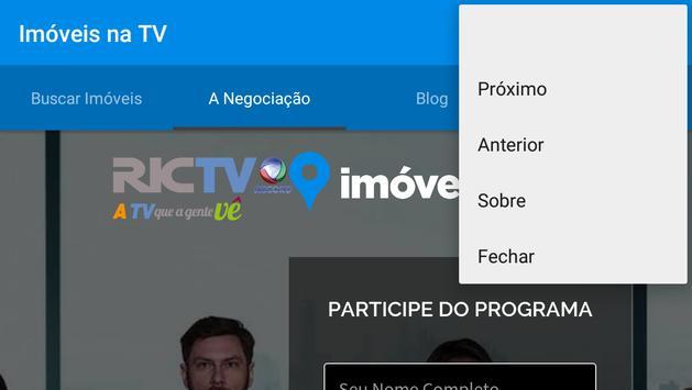 Imóveis na Tv apk screenshot
