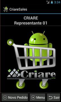 CriareSalesLite-Força de Venda poster