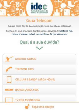 IDEC Guia Telecom poster
