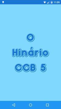 Hinário CCB 5 poster