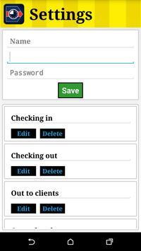 TRN Check In apk screenshot