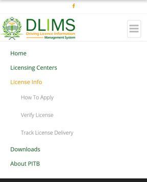 Driving Licence Punjab apk screenshot