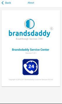 Brandsdaddy Service Center apk screenshot