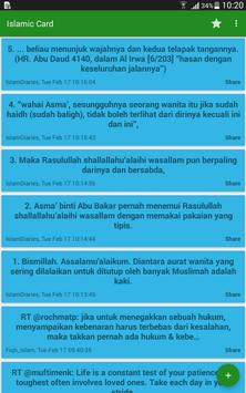 Islamic Card apk screenshot