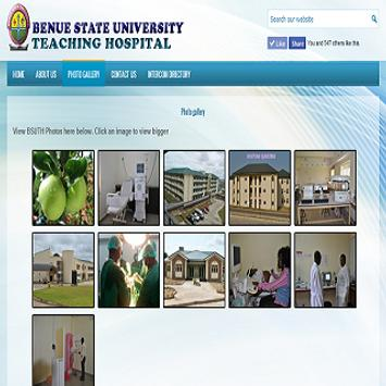 BSUTH Website apk screenshot