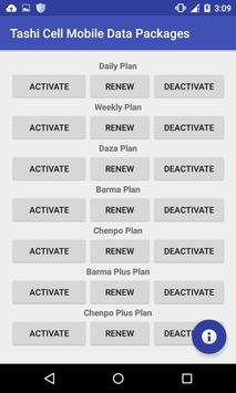 Bhutan Mobile Data apk screenshot