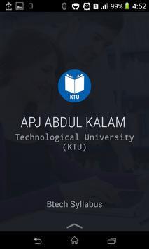 KTU Btech Assistant poster