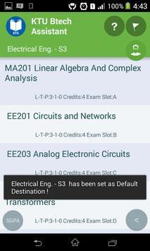 KTU Btech Assistant apk screenshot