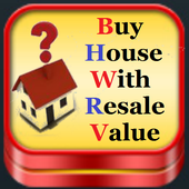 Buy House With Resale value icon