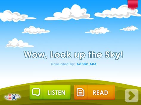 Bukuu - Wow, Look Up The Sky! apk screenshot