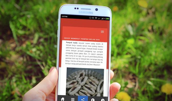 Resep Pempek Palembang apk screenshot