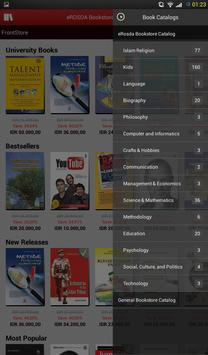 e-ROSDA Bookstore apk screenshot