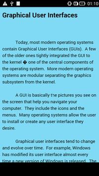 Operating System Computer apk screenshot